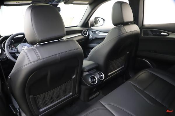 New 2020 Alfa Romeo Stelvio Ti Sport Q4 for sale $49,945 at Alfa Romeo of Greenwich in Greenwich CT 06830 21