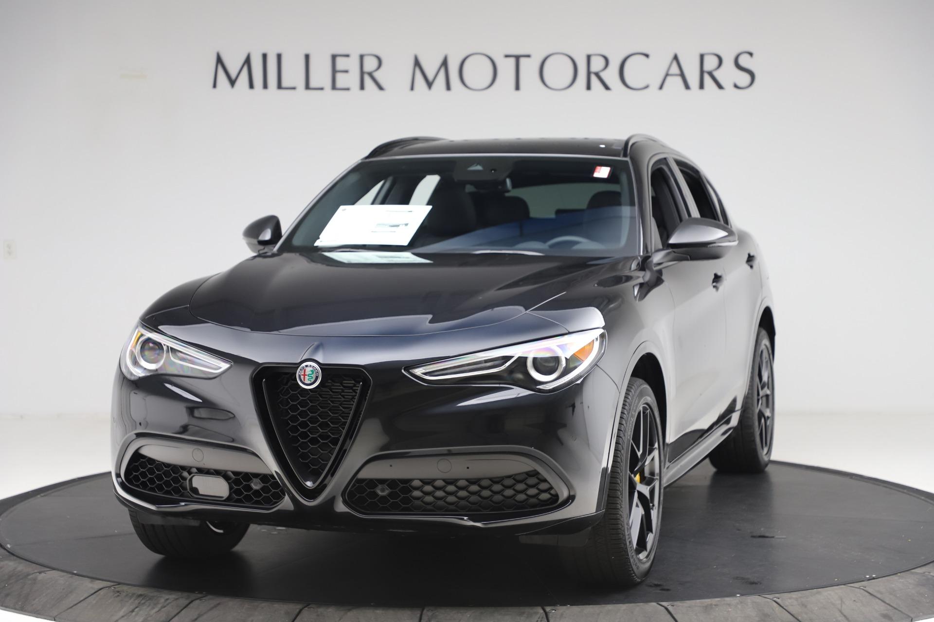 New 2020 Alfa Romeo Stelvio Ti Sport Q4 for sale $49,945 at Alfa Romeo of Greenwich in Greenwich CT 06830 1
