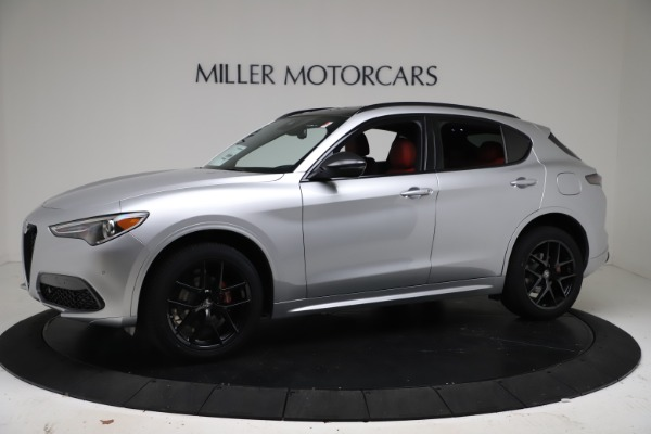 New 2021 Alfa Romeo Stelvio Ti Sport Q4 for sale Call for price at Alfa Romeo of Greenwich in Greenwich CT 06830 2