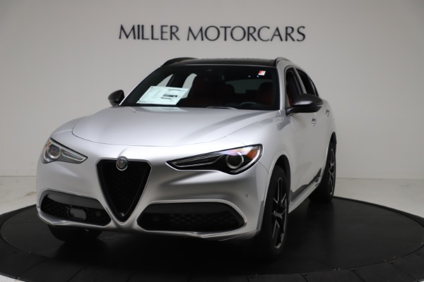 New 2021 Alfa Romeo Stelvio Ti Sport Q4 for sale Call for price at Alfa Romeo of Greenwich in Greenwich CT 06830 1