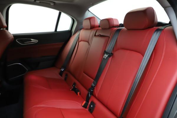 New 2021 Alfa Romeo Giulia Q4 for sale $48,035 at Alfa Romeo of Greenwich in Greenwich CT 06830 19