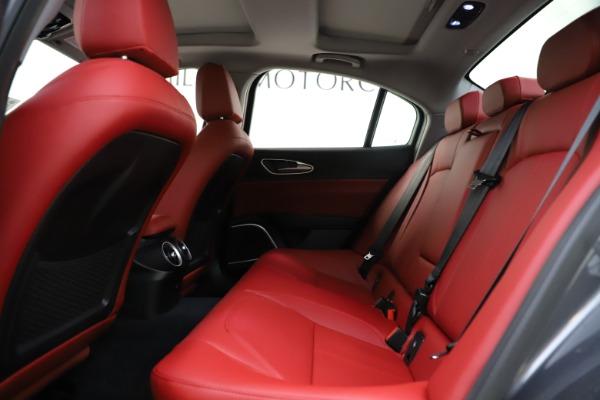 New 2021 Alfa Romeo Giulia Q4 for sale $48,035 at Alfa Romeo of Greenwich in Greenwich CT 06830 20