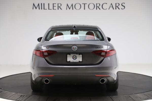 New 2021 Alfa Romeo Giulia Q4 for sale $48,035 at Alfa Romeo of Greenwich in Greenwich CT 06830 6