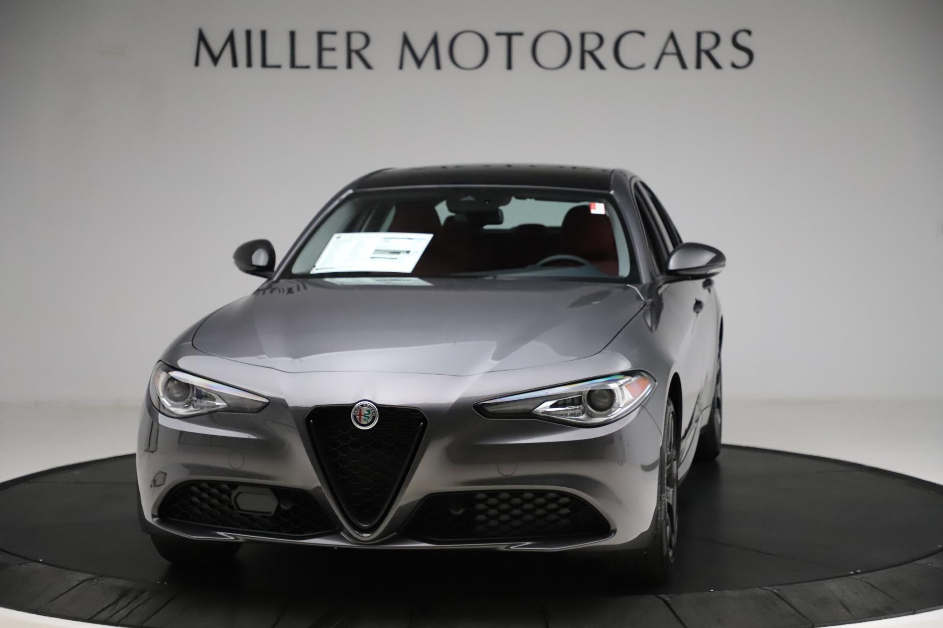 New 2021 Alfa Romeo Giulia Q4 for sale $48,035 at Alfa Romeo of Greenwich in Greenwich CT 06830 1