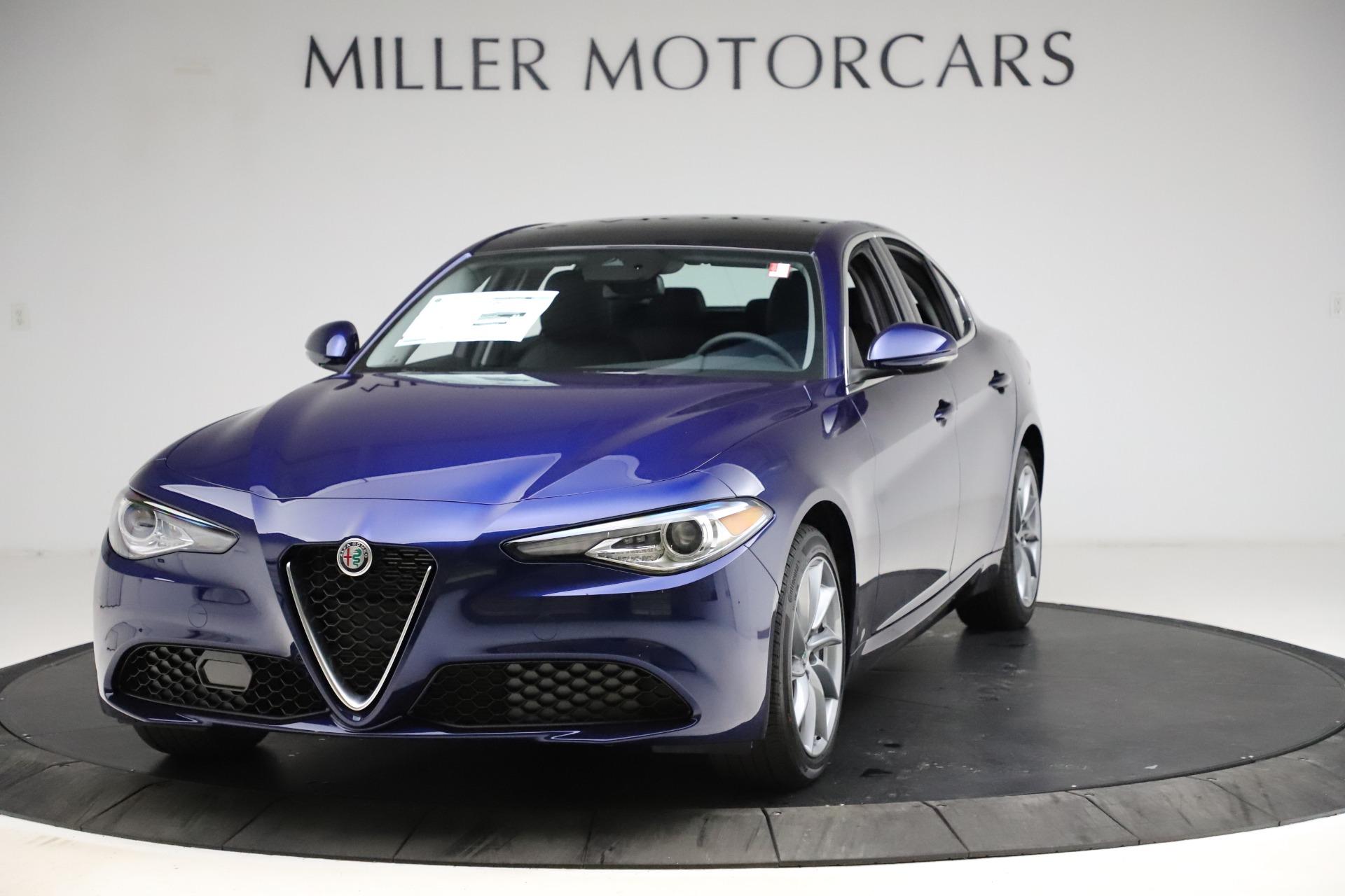 New 2021 Alfa Romeo Giulia Q4 for sale $46,800 at Alfa Romeo of Greenwich in Greenwich CT 06830 1