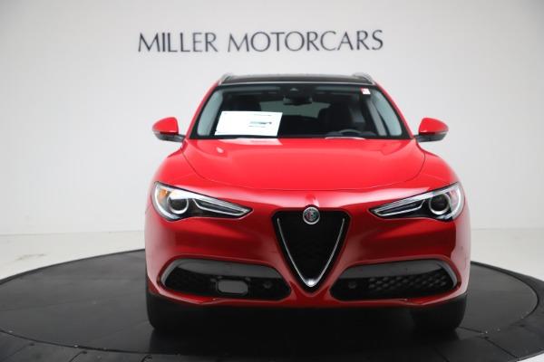 New 2021 Alfa Romeo Stelvio Q4 for sale $47,735 at Alfa Romeo of Greenwich in Greenwich CT 06830 12