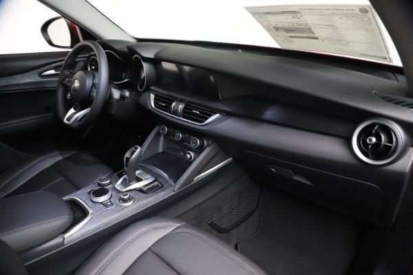 New 2021 Alfa Romeo Stelvio Q4 for sale $47,735 at Alfa Romeo of Greenwich in Greenwich CT 06830 23
