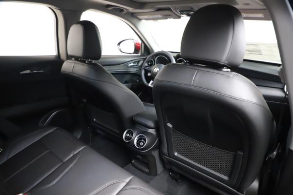 New 2021 Alfa Romeo Stelvio Q4 for sale $47,735 at Alfa Romeo of Greenwich in Greenwich CT 06830 26