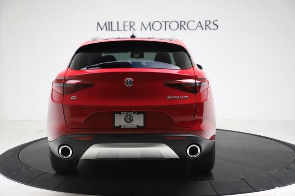 New 2021 Alfa Romeo Stelvio Q4 for sale $47,735 at Alfa Romeo of Greenwich in Greenwich CT 06830 6
