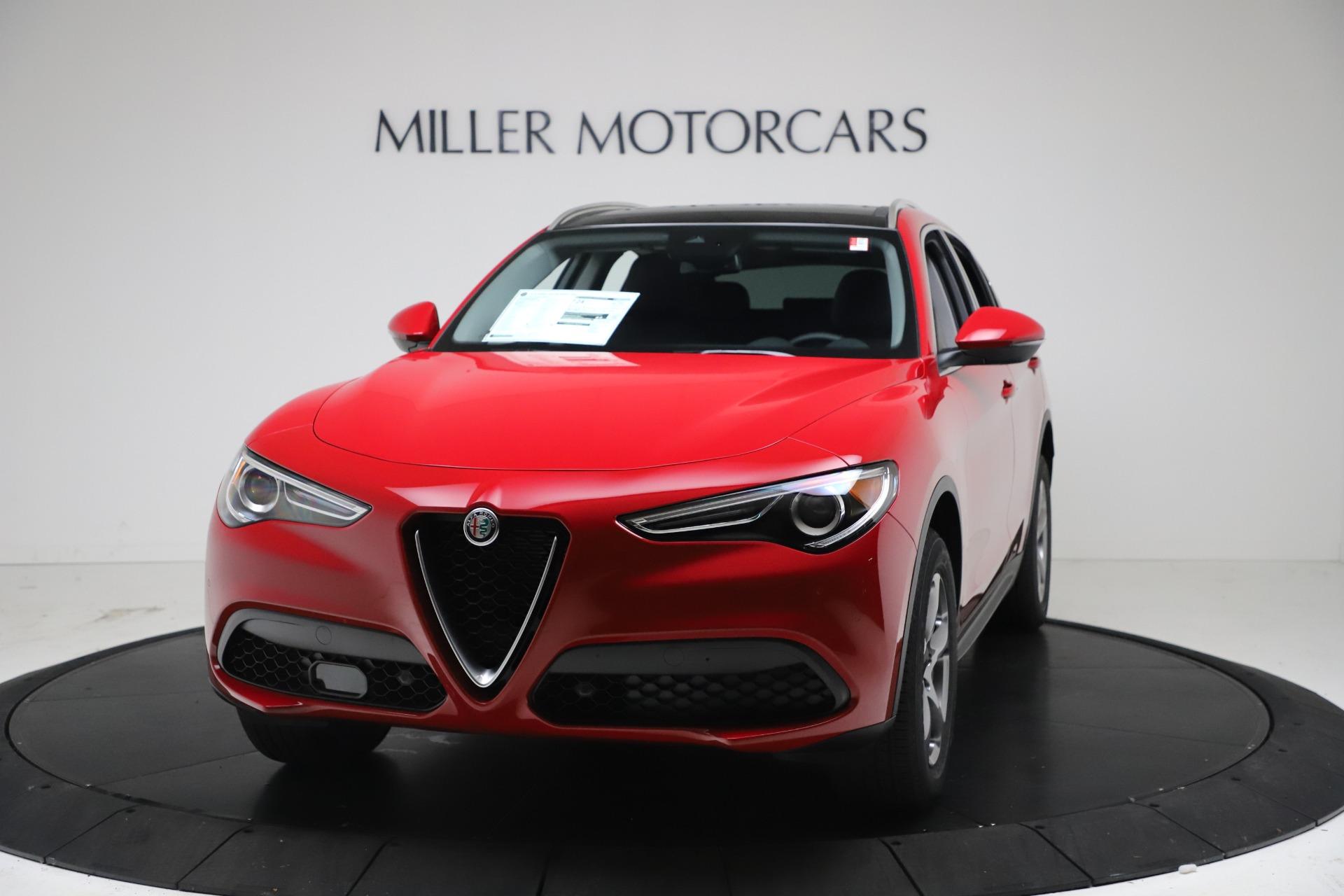 New 2021 Alfa Romeo Stelvio Q4 for sale $47,735 at Alfa Romeo of Greenwich in Greenwich CT 06830 1