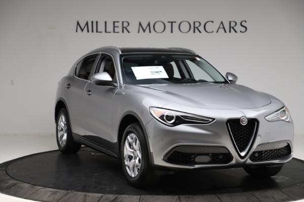 New 2021 Alfa Romeo Stelvio Q4 for sale $48,835 at Alfa Romeo of Greenwich in Greenwich CT 06830 11