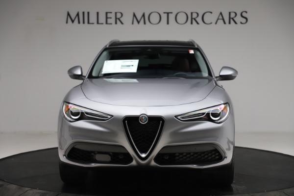 New 2021 Alfa Romeo Stelvio Q4 for sale $48,835 at Alfa Romeo of Greenwich in Greenwich CT 06830 12