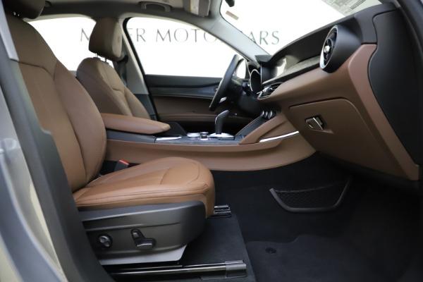 New 2021 Alfa Romeo Stelvio Q4 for sale $48,835 at Alfa Romeo of Greenwich in Greenwich CT 06830 22