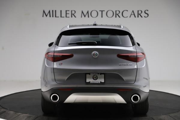 New 2021 Alfa Romeo Stelvio Q4 for sale $48,835 at Alfa Romeo of Greenwich in Greenwich CT 06830 6