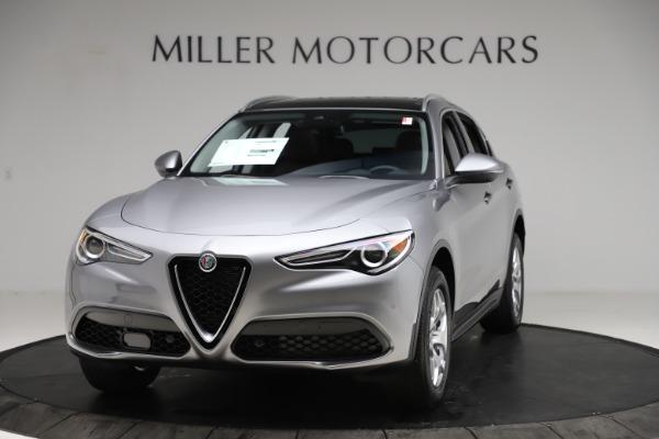 New 2021 Alfa Romeo Stelvio Q4 for sale $48,835 at Alfa Romeo of Greenwich in Greenwich CT 06830 1