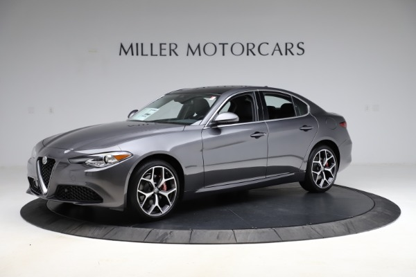 New 2021 Alfa Romeo Giulia Ti Q4 for sale $52,540 at Alfa Romeo of Greenwich in Greenwich CT 06830 2