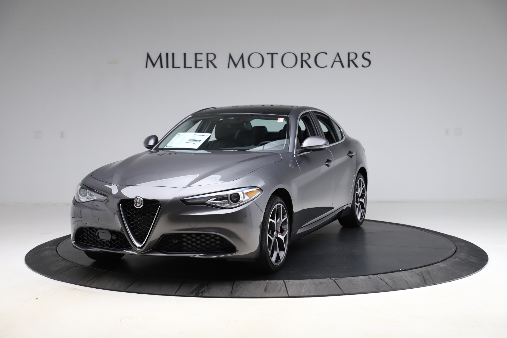New 2021 Alfa Romeo Giulia Ti Q4 for sale $52,540 at Alfa Romeo of Greenwich in Greenwich CT 06830 1