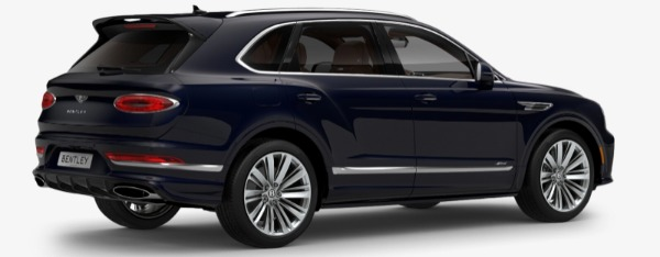 New 2021 Bentley Bentayga Speed Edition for sale $272,895 at Alfa Romeo of Greenwich in Greenwich CT 06830 3