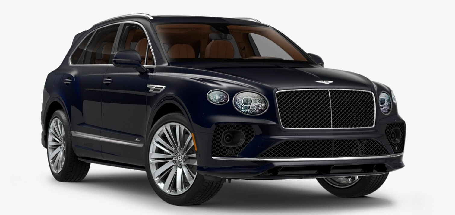 New 2021 Bentley Bentayga Speed Edition for sale $272,895 at Alfa Romeo of Greenwich in Greenwich CT 06830 1