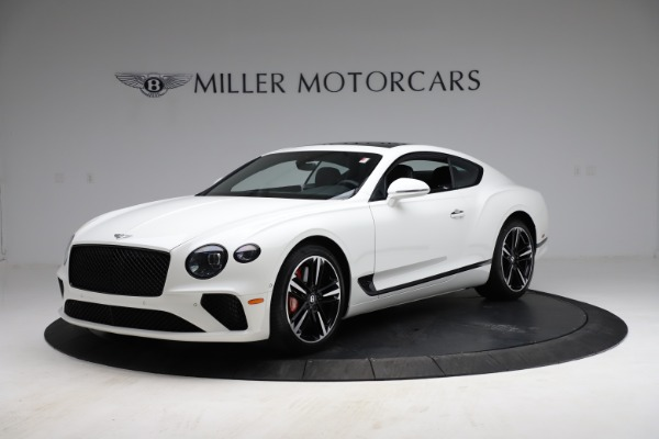 New 2021 Bentley Continental GT V8 for sale $234,030 at Alfa Romeo of Greenwich in Greenwich CT 06830 2
