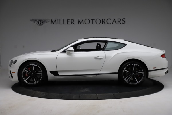 New 2021 Bentley Continental GT V8 for sale $234,030 at Alfa Romeo of Greenwich in Greenwich CT 06830 3