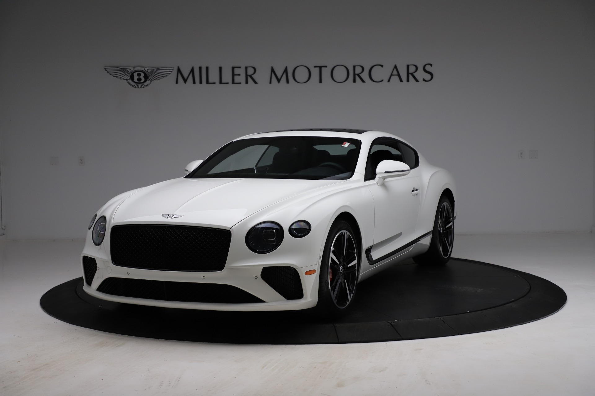New 2021 Bentley Continental GT V8 for sale $234,030 at Alfa Romeo of Greenwich in Greenwich CT 06830 1