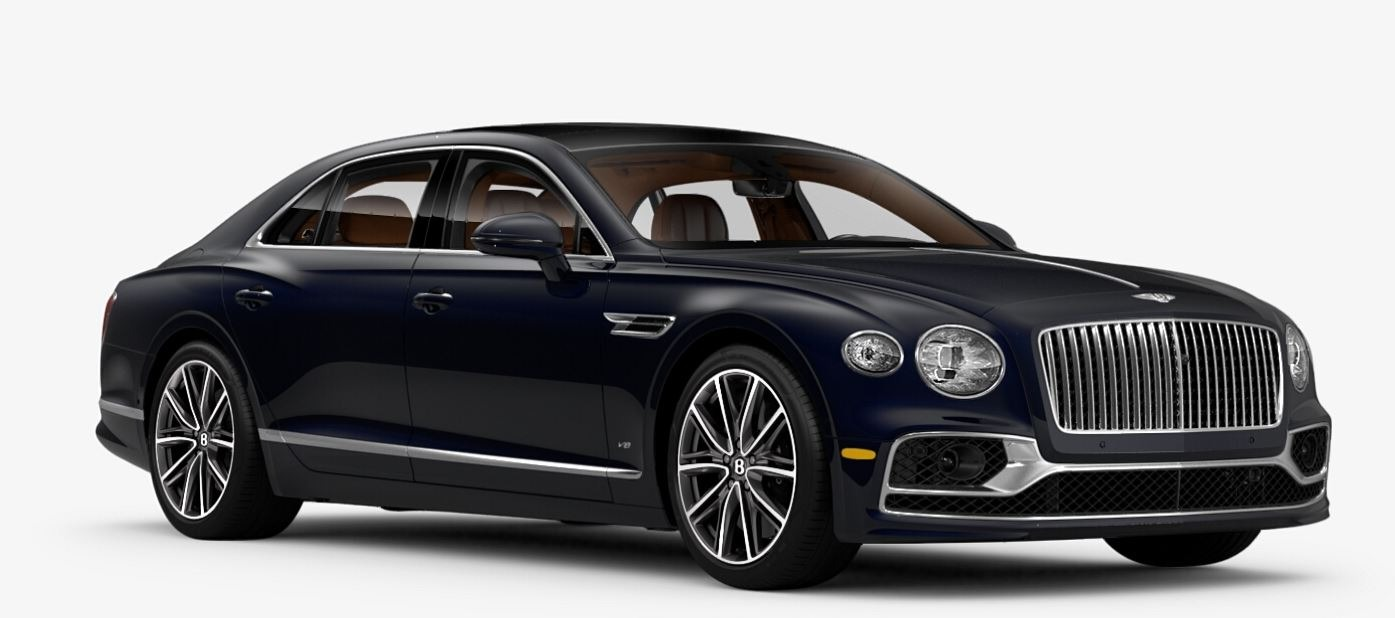 New 2021 Bentley Flying Spur V8 for sale $228,655 at Alfa Romeo of Greenwich in Greenwich CT 06830 1