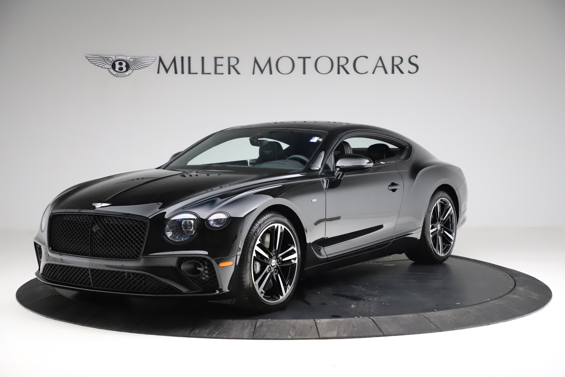New 2021 Bentley Continental GT V8 for sale $254,095 at Alfa Romeo of Greenwich in Greenwich CT 06830 1