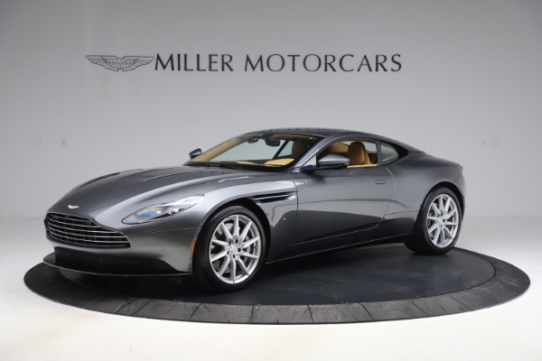 Used 2017 Aston Martin DB11 V12 Coupe for sale $149,900 at Alfa Romeo of Greenwich in Greenwich CT 06830 1