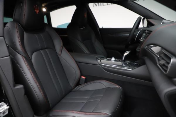 New 2021 Maserati Levante Q4 GranSport for sale $94,985 at Alfa Romeo of Greenwich in Greenwich CT 06830 23