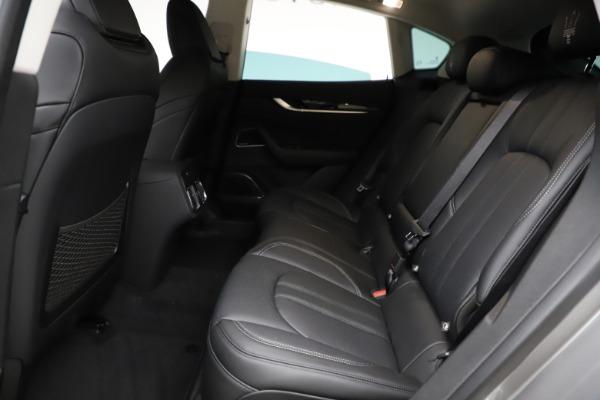 New 2021 Maserati Levante Q4 GranSport for sale $93,585 at Alfa Romeo of Greenwich in Greenwich CT 06830 19