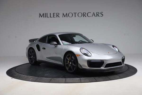 Used 2019 Porsche 911 Turbo S for sale $177,900 at Alfa Romeo of Greenwich in Greenwich CT 06830 11