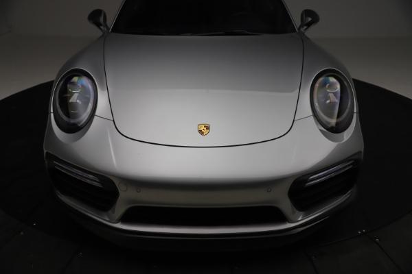 Used 2019 Porsche 911 Turbo S for sale $177,900 at Alfa Romeo of Greenwich in Greenwich CT 06830 27
