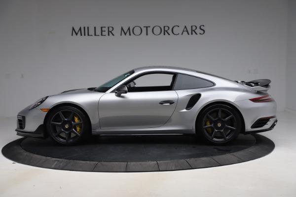 Used 2019 Porsche 911 Turbo S for sale $177,900 at Alfa Romeo of Greenwich in Greenwich CT 06830 3