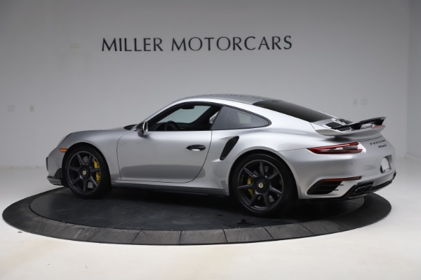 Used 2019 Porsche 911 Turbo S for sale $177,900 at Alfa Romeo of Greenwich in Greenwich CT 06830 4