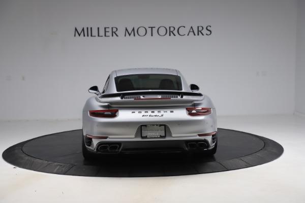 Used 2019 Porsche 911 Turbo S for sale $177,900 at Alfa Romeo of Greenwich in Greenwich CT 06830 6