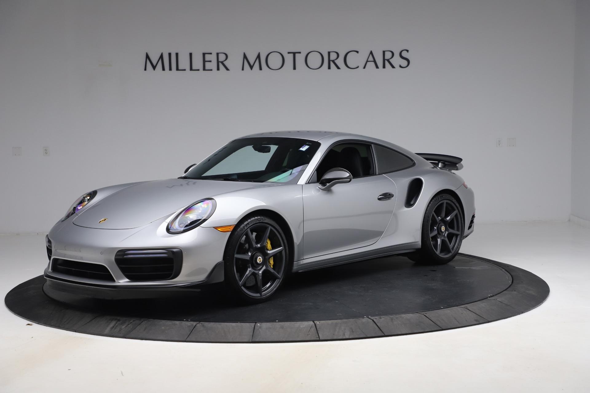 Used 2019 Porsche 911 Turbo S for sale $177,900 at Alfa Romeo of Greenwich in Greenwich CT 06830 1