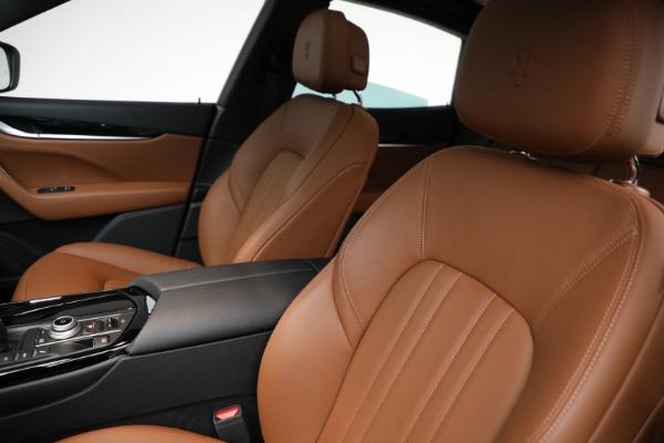 New 2021 Maserati Levante Q4 for sale $85,625 at Alfa Romeo of Greenwich in Greenwich CT 06830 16