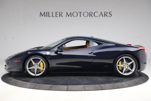 Used 2011 Ferrari 458 Italia for sale $179,900 at Alfa Romeo of Greenwich in Greenwich CT 06830 3