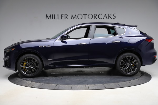 New 2021 Maserati Levante S Q4 GranSport for sale $100,185 at Alfa Romeo of Greenwich in Greenwich CT 06830 3