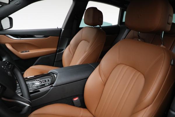 New 2021 Maserati Levante Q4 for sale Call for price at Alfa Romeo of Greenwich in Greenwich CT 06830 12