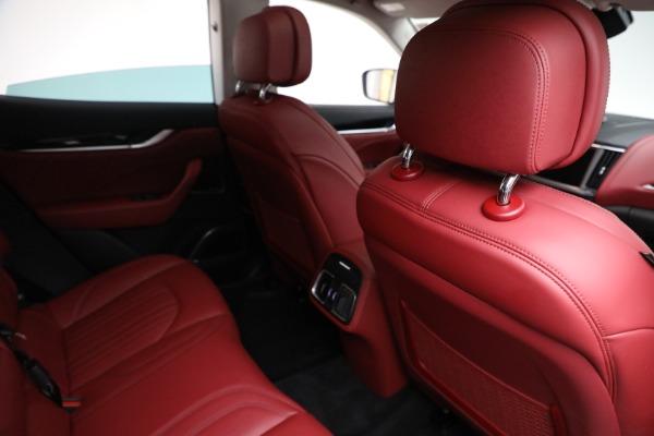 New 2021 Maserati Levante Q4 for sale $76,769 at Alfa Romeo of Greenwich in Greenwich CT 06830 22