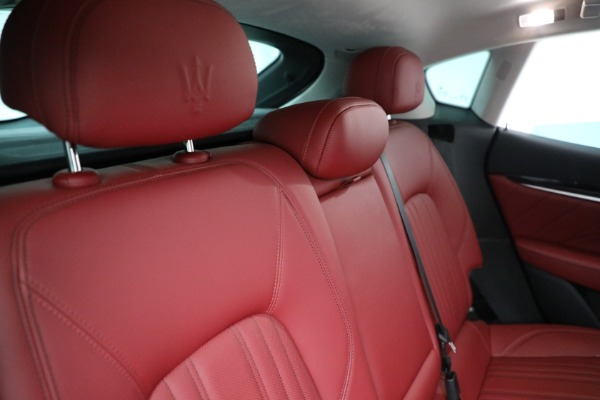 New 2021 Maserati Levante Q4 for sale $76,769 at Alfa Romeo of Greenwich in Greenwich CT 06830 24