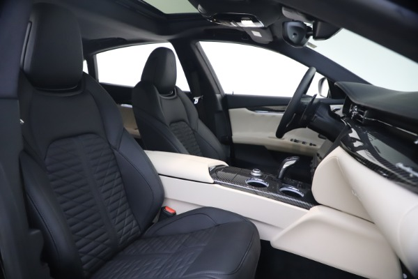 New 2021 Maserati Quattroporte S Q4 GranSport for sale $129,185 at Alfa Romeo of Greenwich in Greenwich CT 06830 18