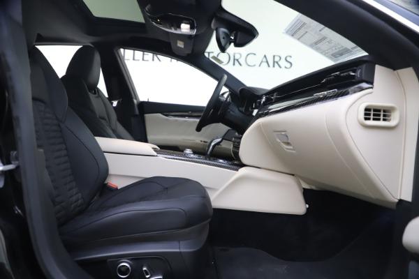 New 2021 Maserati Quattroporte S Q4 GranSport for sale $129,185 at Alfa Romeo of Greenwich in Greenwich CT 06830 19