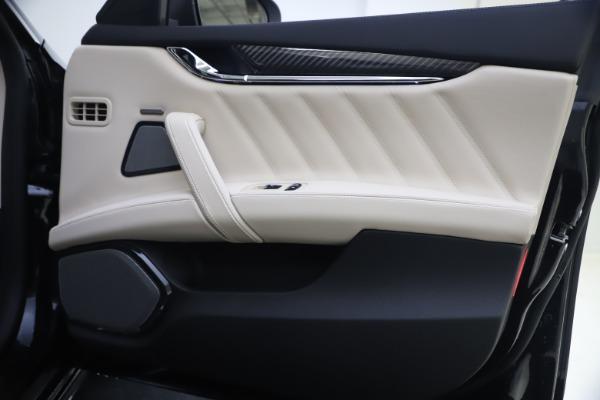 New 2021 Maserati Quattroporte S Q4 GranSport for sale $129,185 at Alfa Romeo of Greenwich in Greenwich CT 06830 21
