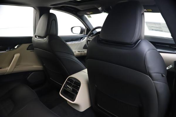 New 2021 Maserati Quattroporte S Q4 GranSport for sale $129,185 at Alfa Romeo of Greenwich in Greenwich CT 06830 27