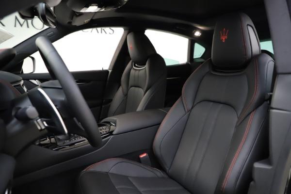 New 2021 Maserati Levante Q4 GranSport for sale $92,485 at Alfa Romeo of Greenwich in Greenwich CT 06830 13