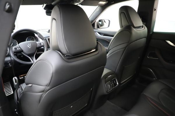 New 2021 Maserati Levante Q4 GranSport for sale $92,485 at Alfa Romeo of Greenwich in Greenwich CT 06830 19