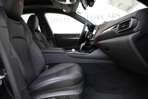 New 2021 Maserati Levante Q4 GranSport for sale $92,485 at Alfa Romeo of Greenwich in Greenwich CT 06830 22
